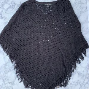 Style and Co knitted poncho